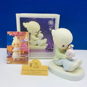 Precious Moments figurine Always count on me NIB